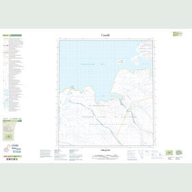 Canadian Topo Map - Bird Island - Map 049C04