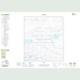Canadian Topo Map - Map 049C06
