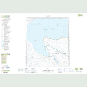 Canadian Topo Map - Sor Fiord - Map 049C08