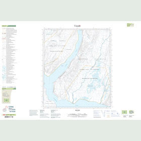 Canadian Topo Map - Map 049C09