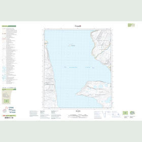 Canadian Topo Map - Map 049C10