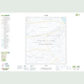 Canadian Topo Map - Map 049C11
