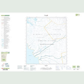 Canadian Topo Map - Map 049C12