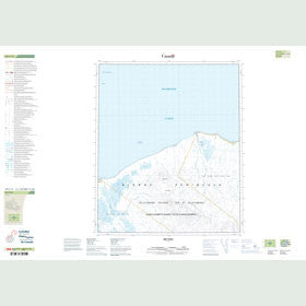 Canadian Topo Map - Map 049C13