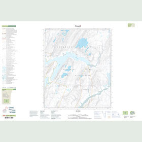 Canadian Topo Map - Map 049C16