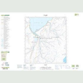 Canadian Topo Map - Map 049D02