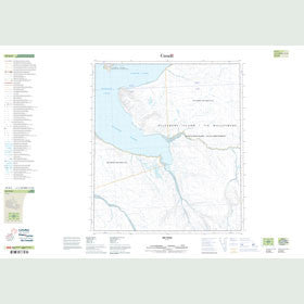 Canadian Topo Map - Map 049D05