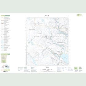 Canadian Topo Map - Map 049D06