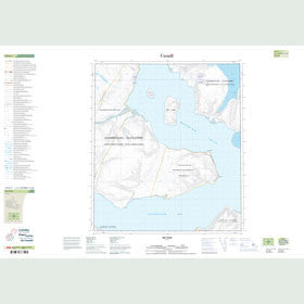 Canadian Topo Map - Map 049D07