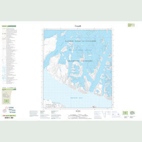 Canadian Topo Map - Map 049D08