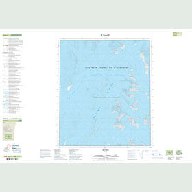 Canadian Topo Map - Map 049D09