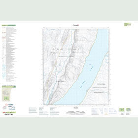 Canadian Topo Map - Map 049D12