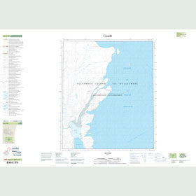 Canadian Topo Map - Map 049D15