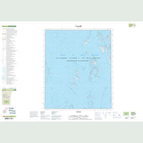 Canadian Topo Map - Map 049D16