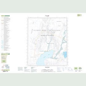 Canadian Topo Map - Mulla River - Map 049E03