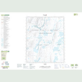 Canadian Topo Map - Map 049E04