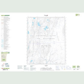 Canadian Topo Map - Map 049E05