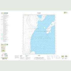 Canadian Topo Map - Map 049E07