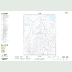 Canadian Topo Map - Map 049E12