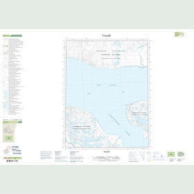 Canadian Topo Map - Map 049E13