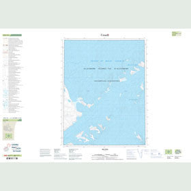 Canadian Topo Map - Map 049E16