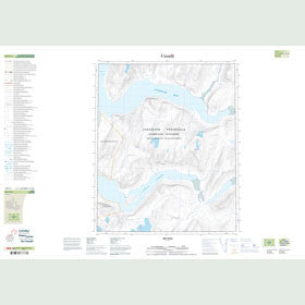 Canadian Topo Map - Map 049F01