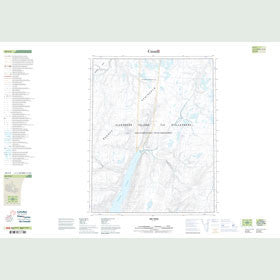 Canadian Topo Map - Map 049F09