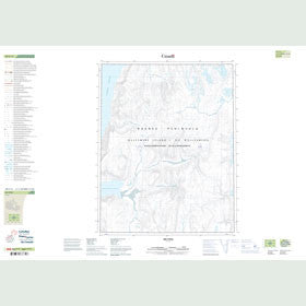 Canadian Topo Map - Trappers Cove - Map 049F11