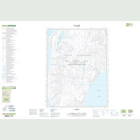 Canadian Topo Map - Map 049F13