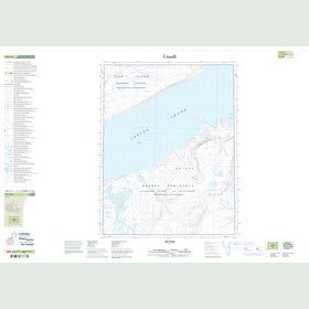 Canadian Topo Map - Map 049F15