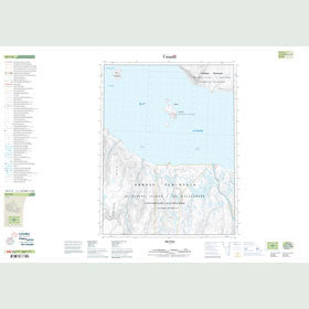 Canadian Topo Map - Map 049F16