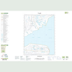Canadian Topo Map - Fulmar Channel - Map 049G02