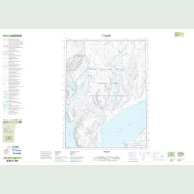 Canadian Topo Map - Map 049G03
