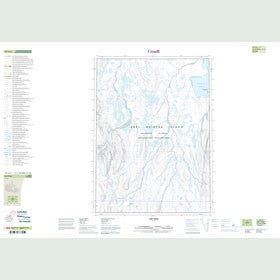 Canadian Topo Map - Map 049G06