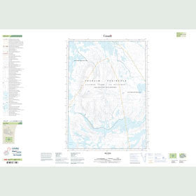 Canadian Topo Map - Map 049G09