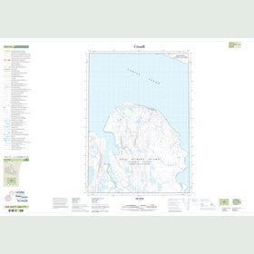 Canadian Topo Map - Map 049G11