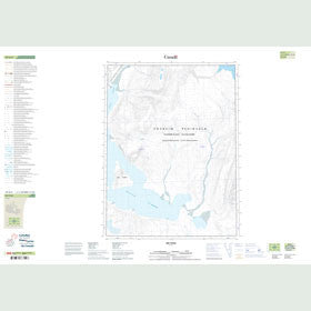 Canadian Topo Map - Map 049H04