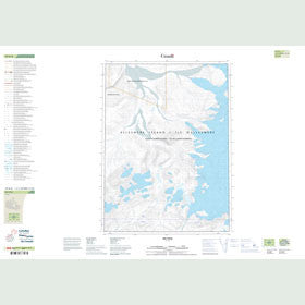 Canadian Topo Map - Map 049H08