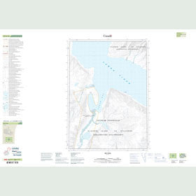 Canadian Topo Map - Map 049H10