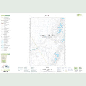 Canadian Topo Map - Map 049H12