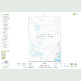 Canadian Topo Map - Map 049H13
