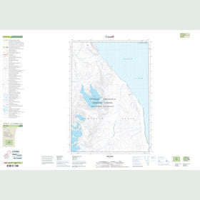 Canadian Topo Map - Map 049H14