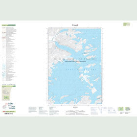 Canadian Topo Map - Map 049H16