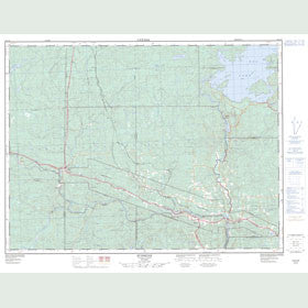 Canadian Topo Map - Sunshine - Map 052A12