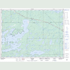 Canadian Topo Map - Savanne - Map 052B16