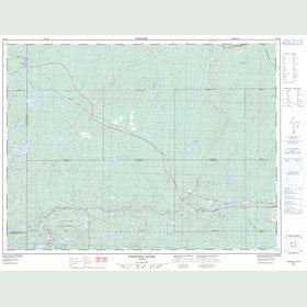 Canadian Topo Map - Firesteel River - Map 052G02