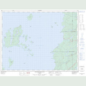 Canadian Topo Map - Shakespeare Island - Map 052H09