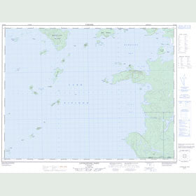 Canadian Topo Map - Livingstone Point - Map 052H16