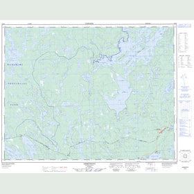 Canadian Topo Map - Armstrong - Map 052I06