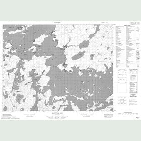 Canadian Topo Map - McIntyre Bay - Map 052K07